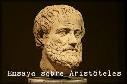 Ensayo sobre Aristóteles