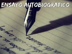 Ensayo autobiográfico