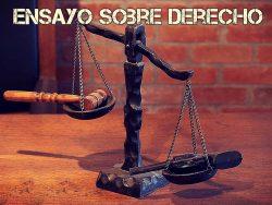 Ensayo sobre derecho