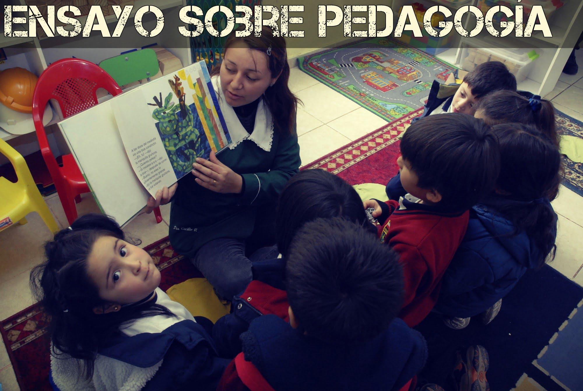Ensayo sobre pedagogía - Ensayos Cortos