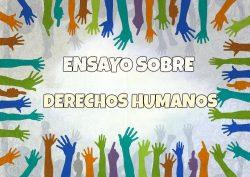 Ensayo sobre derechos humanos