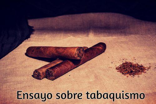 Ensayo sobre tabaquismo